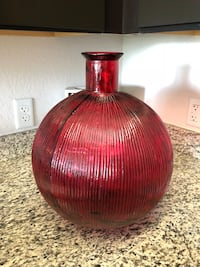 brown and red ceramic vase Lake Worth, 33463