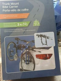 black and gray bicycle trainer box Montréal, H4V 1Y8