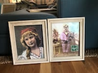 Framed Anthropologie Artwork Westminster, 92683