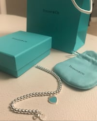 LIKE NEW TIFFANY & CO HEART BEADED BRACELET Vaughan