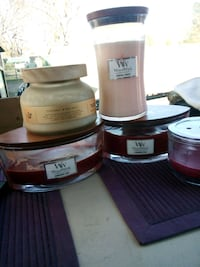Wood Wick and Better Homes and Garden Candles