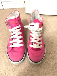 Pink Polo Canvas High-Top Sneakers/Shoes Brampton, L7A 3C7