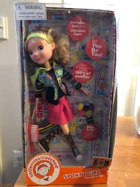 "Sporty Girl Little Miss Matched Missmatched Doll New Tonner Toys 18"" Lk Wellie Wishers American Girl Fredericksburg, 22406"