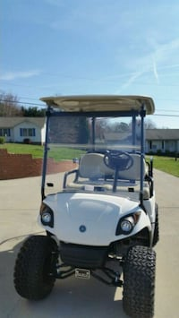 Used White And Red Golf Cart For Sale In Knoxville Letgo