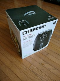 Chefman air fryer XL 6.5 liters. New in box. Fairfax