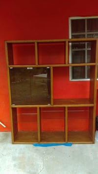 brown wooden TV hutch with shelf Pharr, 78577
