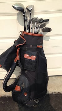 black and red golf bag Mississauga, L4W 3C2