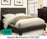Queen bed frame  La Mirada