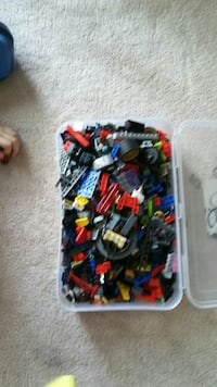 Lego more than 700 pieces