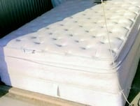 Thick Queen PillowTop Mattress And Box spring  Woodbridge, 22191