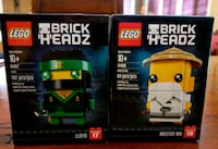 LEGO Brick Headz- Lot of 2  Hamilton, L9K 0A5