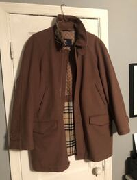 Burberry men's Wool Cashmere Tailored Coat good condition I originally paid over $800 Missing a button. Size XL I'm open to negotiations! Washington, 20002