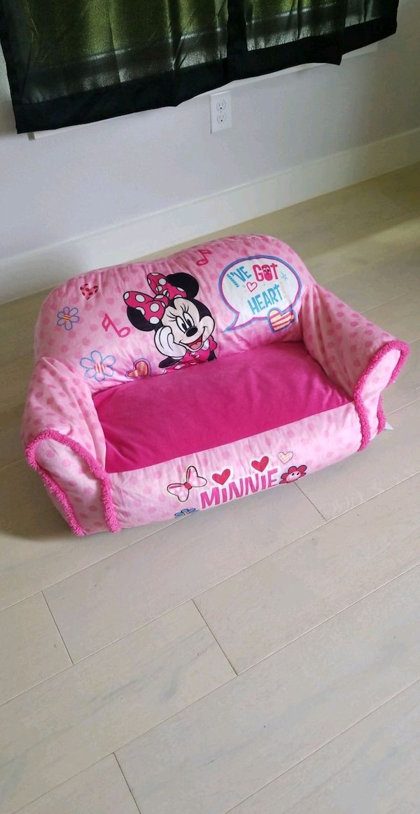 Astonishing Childrens Minnie Mouse Couch Unemploymentrelief Wooden Chair Designs For Living Room Unemploymentrelieforg