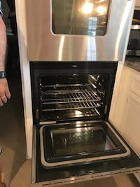 220 Volts Stainless Steal Jenn-Air Dual Convection Oven