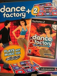 PlayStation 2 Dance Factory Game