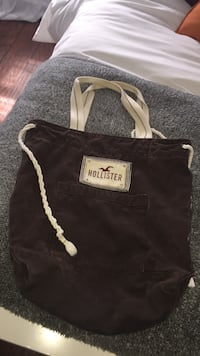 Black and white Hollister  tote bag