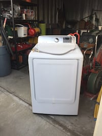 White front-load clothes dryer Hayward, 94545