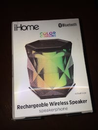 green and black iHome rechargeable wireless speaker box Silver Spring, 20904