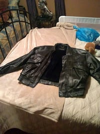 Real Pelle Cuir leather coat