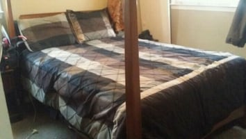 Queen Size bed with mattresses