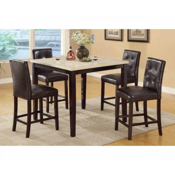 Counter Height Table and 4 High Chair  - Brand New - Free Home Delivery SF bay area