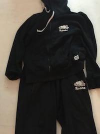 Black and white roots track suit  Aurora, L4G 6T1