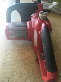 Black and red electric hedge trimmer Tuscola, 79562