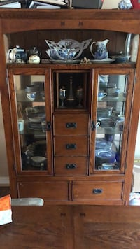 China cabinet  plus China Warrenton, 20187