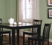 Brand New 5 Piece Counter Height Dining Set CHICAGO