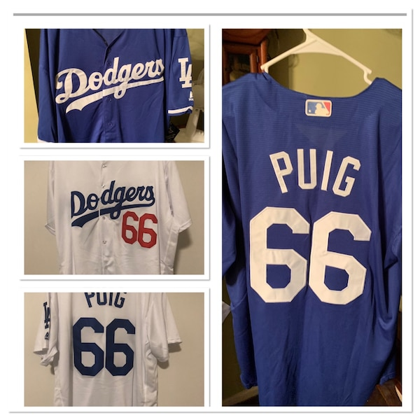 a312716cee5 Used blue and white Los Angeles Dodgers jersey for sale in Las Vegas ...