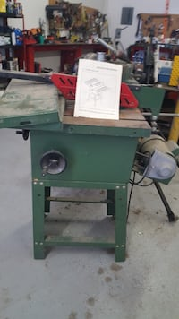 "Central Machinery 10"" Table saw null"