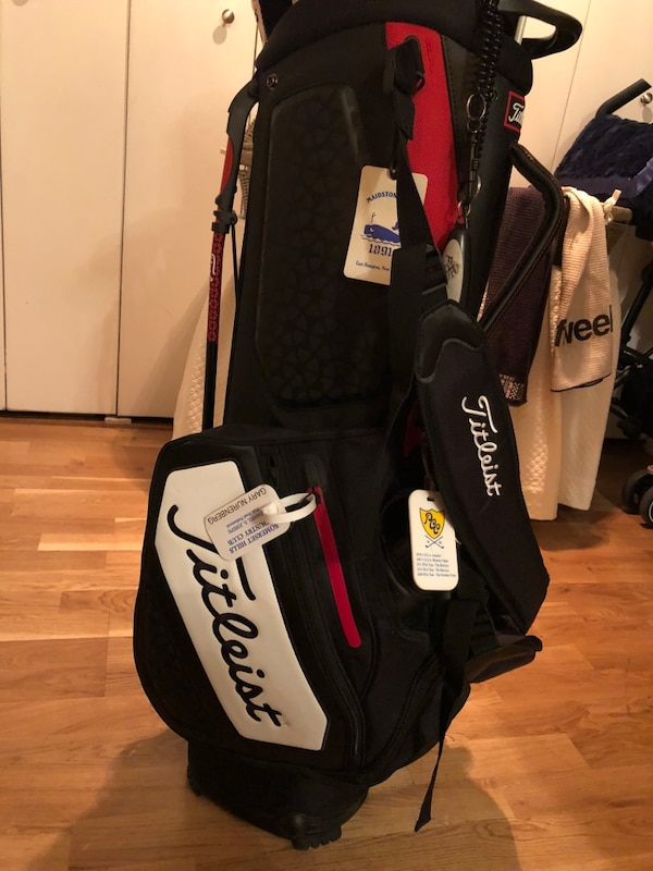 bbc63e69d54 Used Titleist Tour Staff Stand Golf Bag for sale in New York - letgo