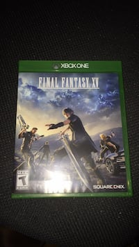 Final Fantasy XV Xbox One game case Silver Spring, 20904