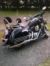 black and gray cruiser motorcycle Rocky View No. 44, T4C 0G7