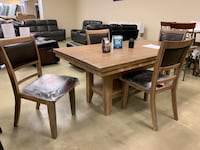 Wooden Dining Table Set With 4 Chairs  Jacksonville, 32216