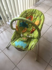 Fisher Price Comfy Time Baby Bouncer