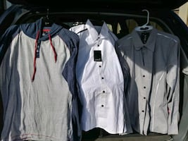 Shirts jackets and vest