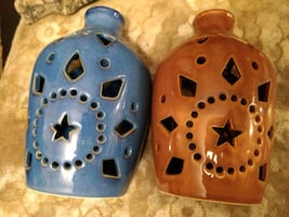 Vases and tea light candle holders