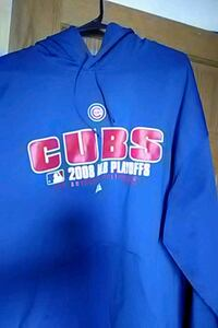 blue and red Chicago Cubs pullover hoodie Des Moines, 50316