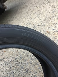black auto tire with tire Red Bank, 07701