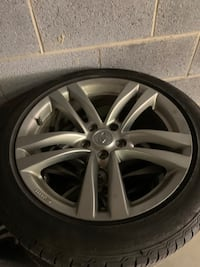 2011 Infiniti G Coupe **RIMS ONLY** Clinton