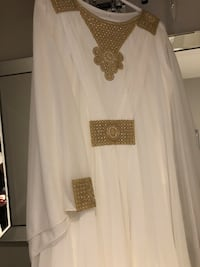 Off white abaya brand new  Edmonton, T5Z 3E6