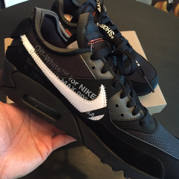 AIR MAX 90 OFF-WHITE -SZ.9