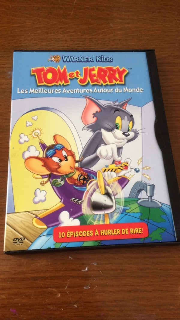 Tom et Jerry DVD