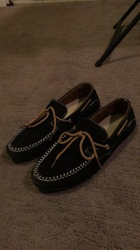 pair of black boat shoes Surrey, V3R 1K9