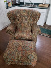 Chair and Ottoman, Excellent Condition!