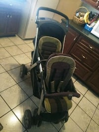 baby's black and gray stroller Pomona, 91766