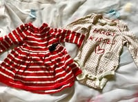 Toddler's three assorted clothes $5each Surrey, V3R 1W3