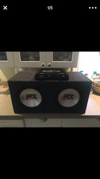 MTX amp with MTX 10 inch subs  Warwick, 10990