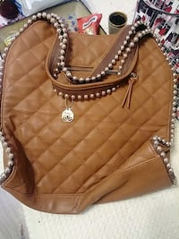 quilted brown leather crossbody bag Colorado Springs, 80905